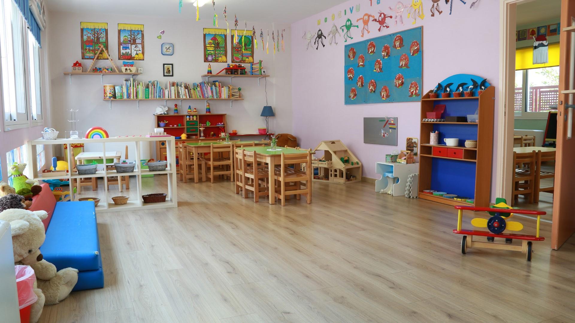 Βρεφικά Τμήματα στον παιδικό σταθμό Πρωτοβαδίσματα